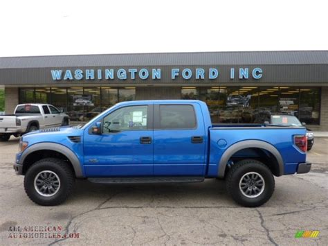 2011 Ford F150 SVT Raptor SuperCrew 4x4 in Blue Flame