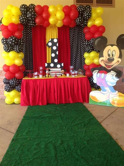 Mickey Mouse Birthday Decorations by Top 25 Best Mickey Mouse Decorations Ideas On