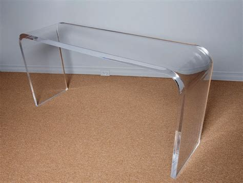 lucite sofa table lucite sofa table acrylic lucite console table wayfair