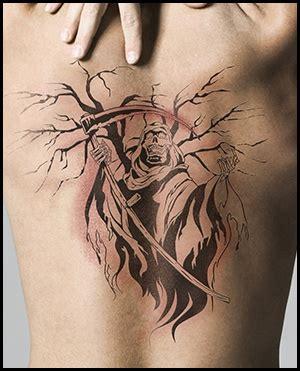 small grim reaper tattoos grim reaper meaning