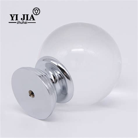 Chrome Door Knobs Glass Brass Chrome Door Knobs For Cupboards Yijia
