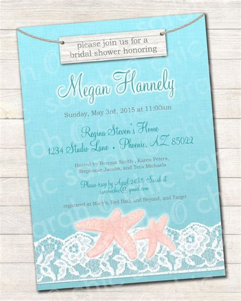 printable wedding invitations beach printable beach bridal shower invitation beach bridal