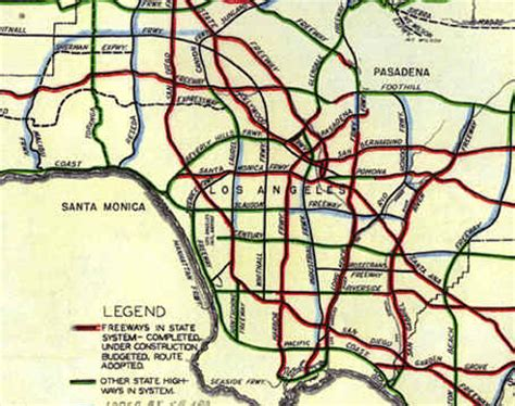 california map freeways california highways www cahighways org southern
