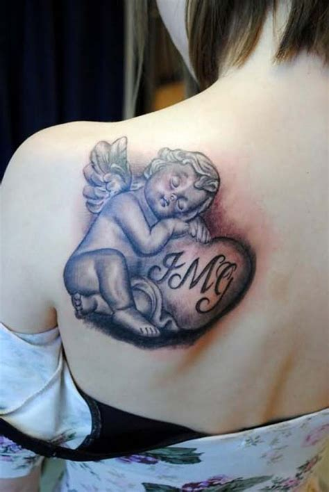 female angel tattoos baby tattoos for designs piercing