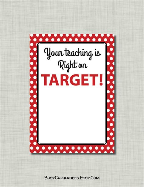 printable gift cards target teacher appreciation gift card target printable by
