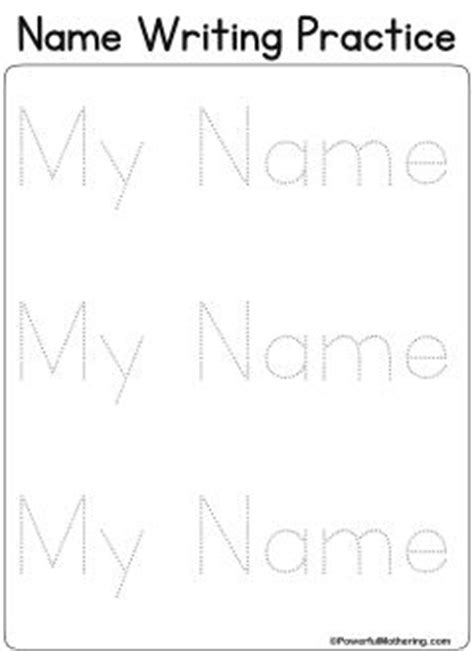 personalized name tracing printable 17 best images about busy book letters on pinterest