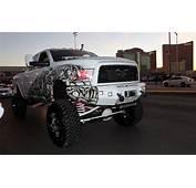 Lifted Dodge Ram Truck Sema  Off Road Wheels