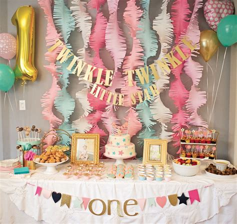 Themes For Little Girl Parties | stylish fun birthday party ideas for little girls