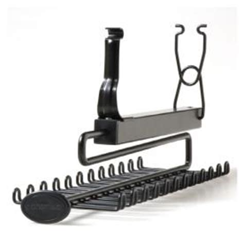 shop closetmaid sliding tie and belt rack accessory