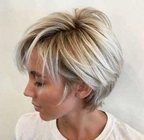 Blonda Frisyrer by Korta Blonda Frisyrer 2018