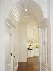 barrel vaulted ceiling archway remodel