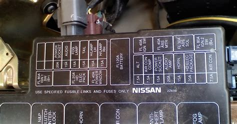 schematics  diagrams nissan fog lamp relay  fuse box