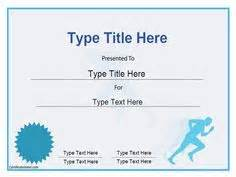 track and field certificate templates free 1000 images about awards on sports awards