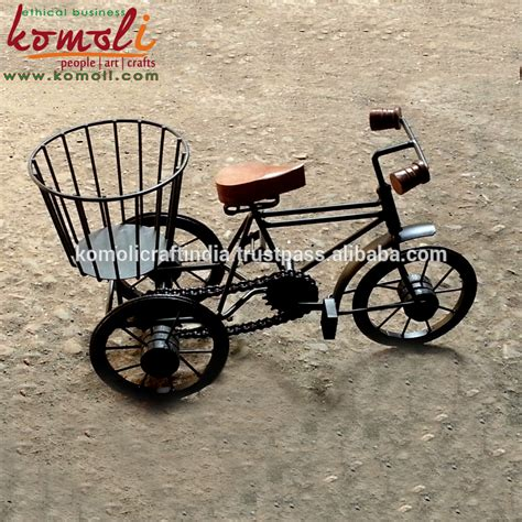 cycling home decor bicycle miniature and decorative wrought iron bicycle home