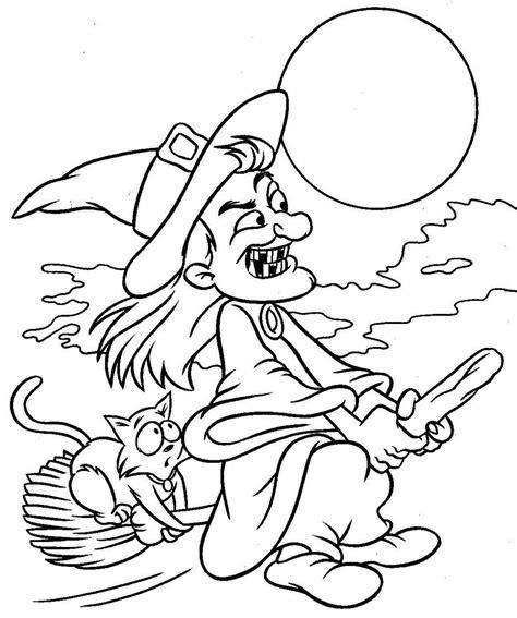 imagenes de unas para jalowin brujas para colorear imprimir pintar dibujos bruja dibujos