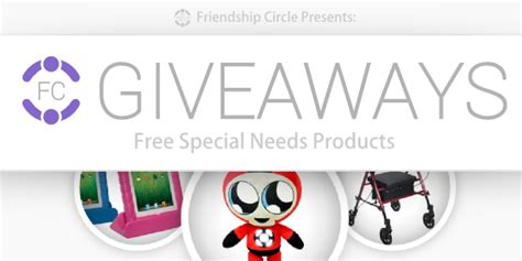 Product Giveaways On Facebook - friendship circle launches special needs giveaways on facebook friendship circle
