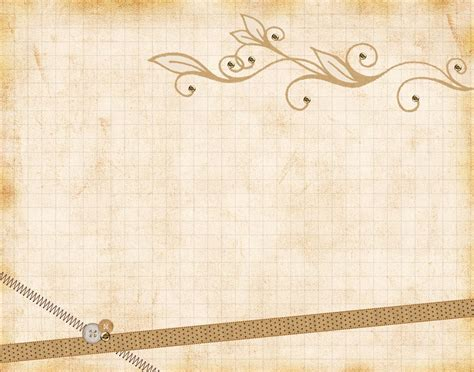 vintage free ppt backgrounds paper vintage ribbons backgrounds presnetation ppt