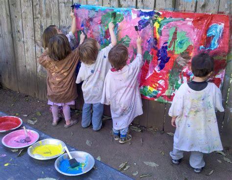 painting for kindergarten warner family preschool painting