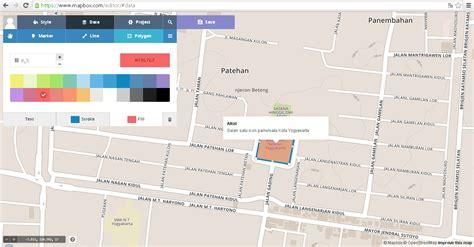 membuat artikel tik tutorial artikel tik 187 membuat peta situs dengan mapbox