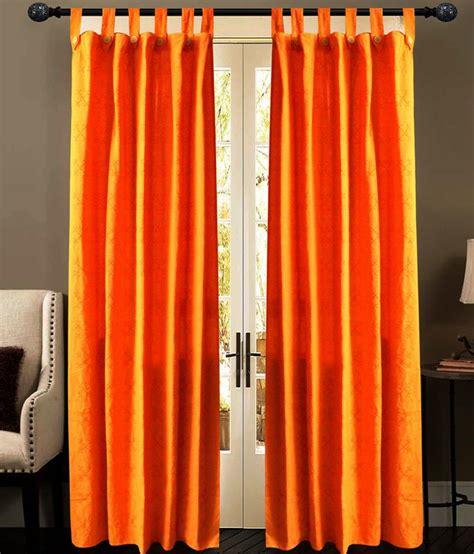 orange cotton curtains newladieszone orange cotton door curtain buy