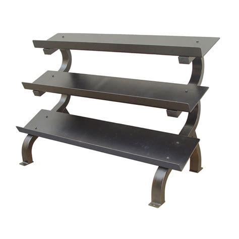 3 Tier Dumbbell Rack troy vtx 3 tier shelf dumbbell rack gtdr 3 fitnesszone