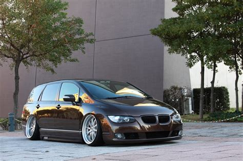 bmw van 2015 huh jdm honda odyssey tricked out as a bmw carscoops
