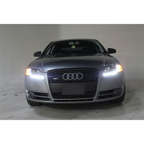 audi a4 headlights 2002 2005 audi a4 drl led r8 style projector headlights