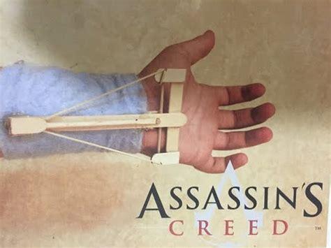 How To Make A Paper Assassins Creed Blade - how to make an assassin s creed blade out of
