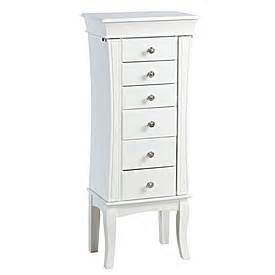 view white with zebra print jewelry armoire deals at big lots