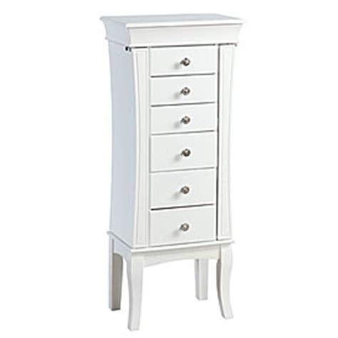 Big Lots Jewelry Armoire by View White With Zebra Print Jewelry Armoire Deals At Big Lots