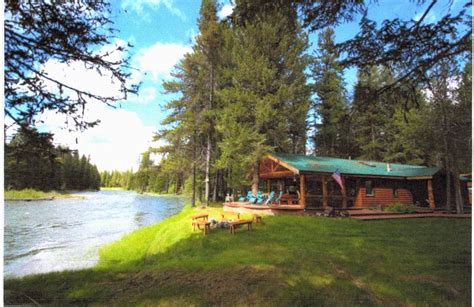 Flathead Lake Rental Cabins by Spectacular Swan River Retreat 8 Br Vacation Cabin For