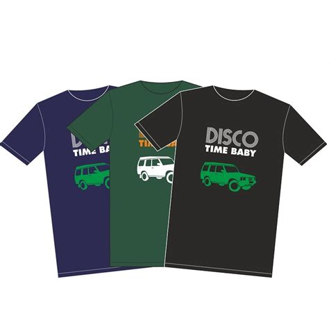 T Shirt Discovery sales disco time land rover discovery t shirt