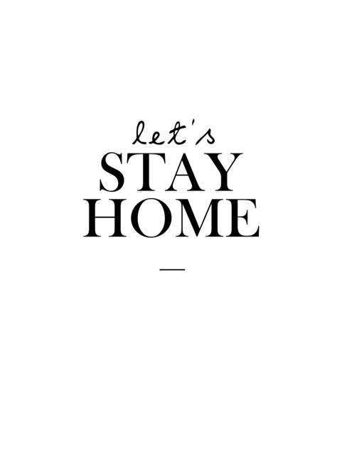 lets stay home by home si ck nu
