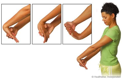 your wrists to your arms and now to your hair scuncis hair stretches to ease wrist and arm aches and fatigue