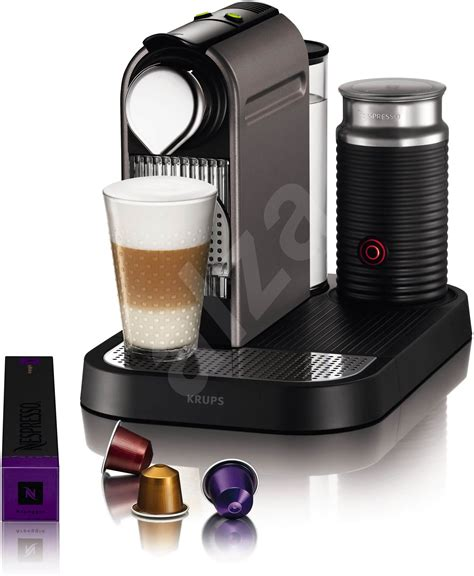 Nespresso Coffee Machine krups nespresso citiz milk xn730t10 titan alzashop