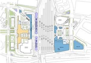 Union Station Floor Plan Grimshaw Gruen Finalize Master Plan For Los Angeles