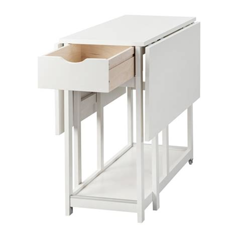 Drop Leaf Table Ikea Gisslaboda Drop Leaf Table White 38 77 116x95 Cm Ikea