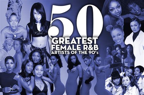 The 50 Greatest Female R&B Artists of the '90s | 15 Minute ... R And B Artists 1990s