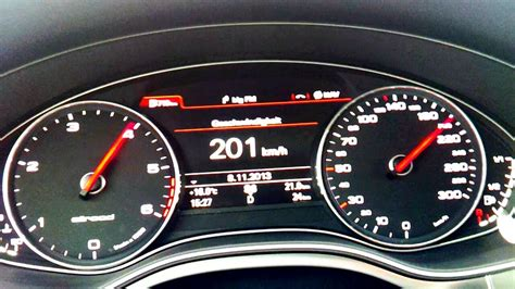 Audi A6 Acceleration by Audi A6 Allroad 3 0 Tdi 313ps 0 200 Acceleration Youtube