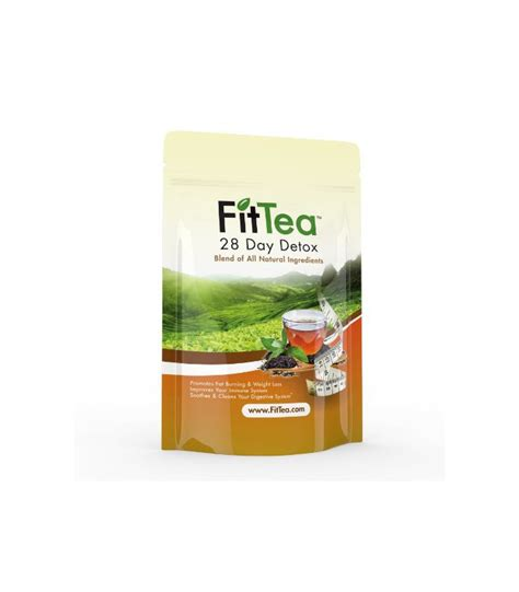 Fit Tea 28 Detox by Fit Tea 28 Day Detox Herbal Weight Loss Tea