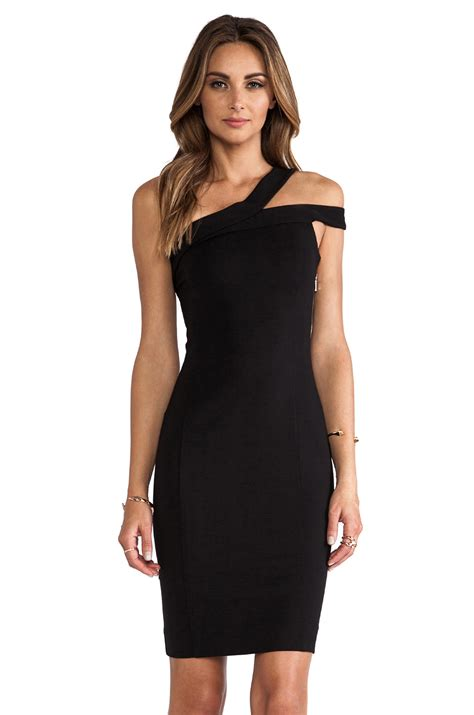 Little Black Dress With Exposed Back Zipper