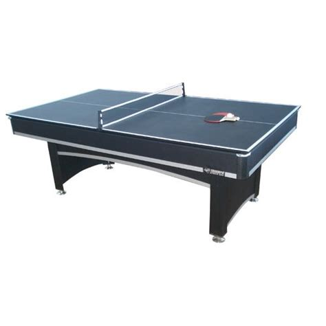 triumph sports usa 7 billiard table with table tennis top