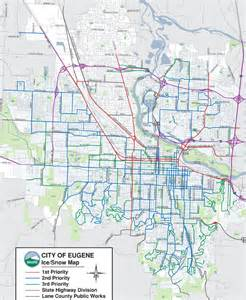 maps eugene oregon eugene oregon area map