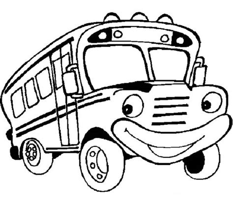 school bus coloring pages clipart best
