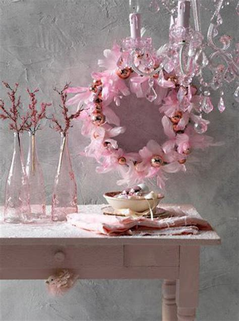 pink winter decorations pink decoration my web value