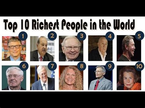 see the top 10 richest top 10 richest in the world