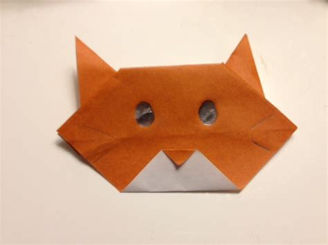 How To Fold An Origami Cat - how to make an origami cat part 1 exploration project