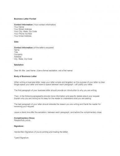 business letter templates to print printable sle business letter template form forms and
