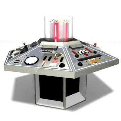 tardis console tardis console doctor 1982 3d model