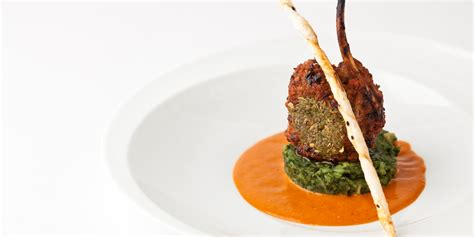 Spicy Rack Of Recipe by Spice Crusted Rack With Spinach Potatoes Great